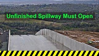 El Niño forcing Oroville Dam spillway opening next week