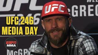 Donald Cerrone UFC 246 Media Day Press Conference | ESPN MMA