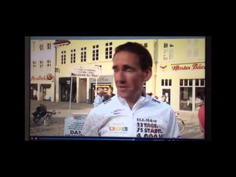 Matthias Herzog umrundet Deutschland mit dem Fahrrad - Für die gute Sache