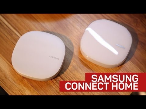 Samsung Connect Home is a router and smart home hub in one