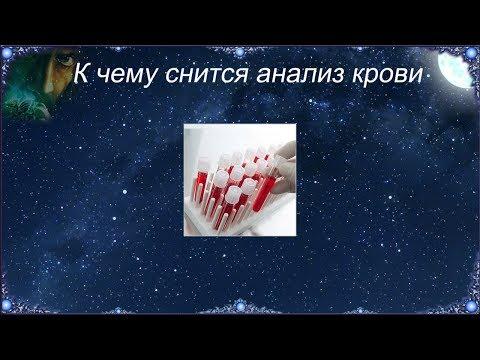 К чему снится Анализ крови (Сонник)