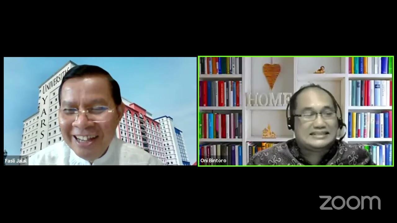 ICMI PODCAST Satu Jam Bersama Prof Fasli Jalal Bag 5