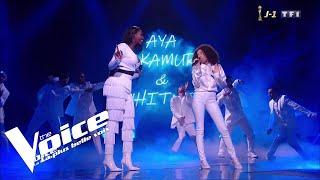 Aya Nakamura Et Whitney   Djaja | Whitney | The Voice 2019 | Final