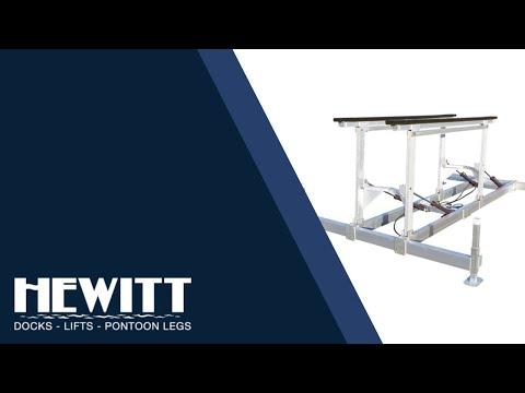 Hewitt Hydraulic Boat Lifts