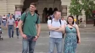 感動ロシアで一人がロシア国歌を歌いだすと…