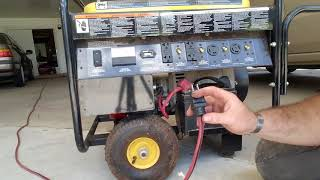 how to operate a generator safely