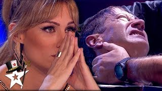 UNDERWATER ESCAPE FAIL! Judge Can't Watch As Paramedics Pull Him Out | Magicians Got Talent