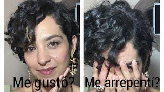 Me Hice Un Curly Pixie!!! 😱 Aquí Te Cuento Todo Paso A Paso!!