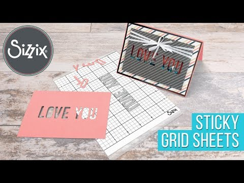 Must-Have Accessory: Sticky Grid Sheets | Sizzix