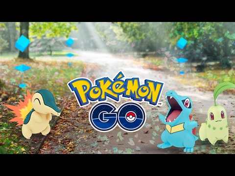 Chikorita, Cyndaquil, Totodile added to Pokemon Go.