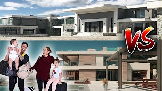 ACE FAMILY Old VS New House (House Tour)