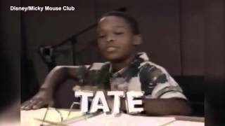 The late Marque Lynche in '90s promo for Mickey Mouse Club