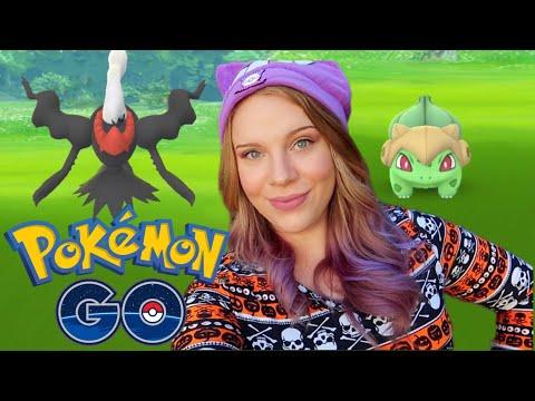 DARKRAI RAIDS! Shiny Costume Pokémon Hunt! Pokémon Go Halloween 2019 Event | Day 2