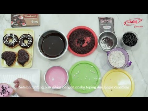 Cara Membuat L'AGIE Fantasy Chocolate Donuts