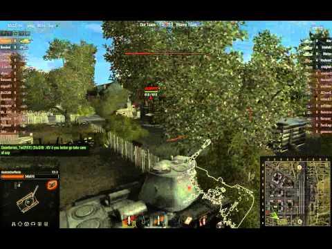 World of Tanks - KV-3, 11 kills, 2012.04.15 (no sound)