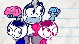 Pencilmates Math Mayhem   Animated Cartoons Characters   Animated Short Films   Pencilmation