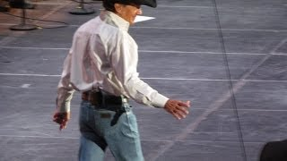 George Strait - River Of Love - Cowboy Rides Away Tour 2014 - Hidalgo, Texas 6-5-14
