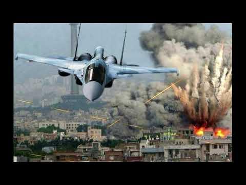 🌍 Огненный смерч в Кафр Набуде  ВКС РФ выжигают занявших город боевиков