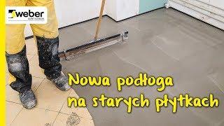 Nowa podłoga na starych płytkach lub lastriko. Remont bez skuwania.