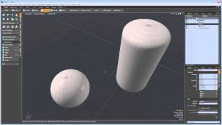 Using MODO with 3ds Max: Component Geometry Modes