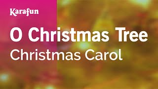 Karaoke O Christmas Tree - Christmas Carol *