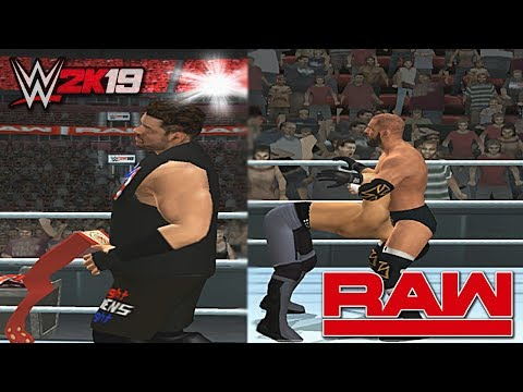 Download WWE 2K19 PS2 Recreation Kevin Owens Wins the WWE Universal Champion! - Fatal 4-Way Elimination Match HD Mp4 3GP Video and MP3