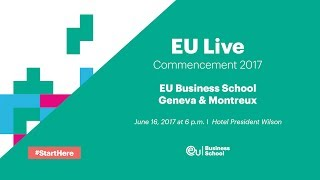 Join us for a live stream of the EU Switzerland Commencement Ceremony