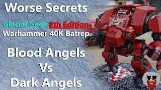 Blood Angels VS Dark Angels - 8th Edition Warhammer 40K Batrep - 1,500pt