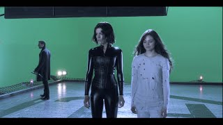 Kate Beckinsale Outtakes In Black Vinyl Catsuit