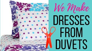 Dresses From Duvet Covers