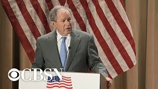 """George W. Bush says immigration is a """"blessing and a strength"""""""