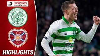 Celtic 10 points clear after winning against Hearts!   Subscribe to the SPFL YouTube here!: http://goo.gl/jq3jXN Like us on Facebook: http://www.facebook.com/spflofficial Follow us on Twitter: https://twitter.com/spfl & https://twitter.com/spflnews  LADBROKES PREMIERSHIP CONTENT AVAILABILITY INFORMATION - GOALS FROM SATURDAY'S MATCHES WILL BE AVAILABLE IN THE UK & IRELAND FROM 6PM ON SUNDAY.  GOALS FROM ALL OTHER MATCHDAYS WILL BE AVAILABLE TO VIEW WORLDWIDE FROM MIDNIGHT AFTER THE MATCH.  The SPFL is the leading sporting competition in Scotland, covering the top 42 football teams in the country. Subscribe to the official SPFL YouTube channel to make sure you catch all the best bits from Scottish league football. Scottish football is famous for passionate and exciting matches featuring top teams like Celtic, Rangers, Aberdeen, Hearts, Hibs and Dundee United.  The top league is called the Ladbrokes Premiership. Below the top level, there are a further three leagues -- the Ladbrokes Championship, Ladbrokes League 1 and Ladbrokes League 2.