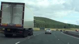 preview picture of video 'Glasgow Motorway Inspiration and information for planning UK vacations'