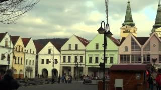 preview picture of video 'Historická Žilina - Malý historický okruh'