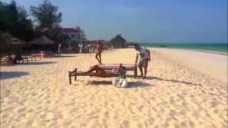 preview picture of video 'Zanzibar, Waikiki Kitesurf'