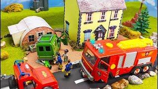 Feuerwehrmann Sam: Spielzeug Film | Ein gefährlicher Reifenwechsel | Film für Kinder | Kids Movie