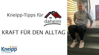 Video Kraft für den Alltag (Übungen für die obere Extremität) - Kneipp-Tipps für daheim Teil 13 abspielen