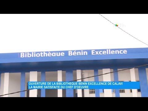 Ouverture de la bibliothèque Bénin Excellence de Calavi : la mairie satisfaite du chef d'œuvre Ouverture de la bibliothèque Bénin Excellence de Calavi : la mairie satisfaite du chef d'œuvre