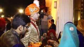 Raj Chauhan weds Jiya Nathawat 17th feb 2014 at Rambagh