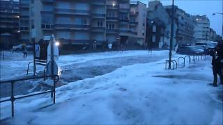 preview picture of video '20 février 2015 - Grande marée - St-Malo Rochebonne'