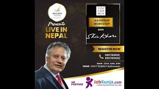Shiv Khera Live in Nepal on 22nd June 2019