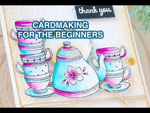 Vintage Tea Card For The Beginners