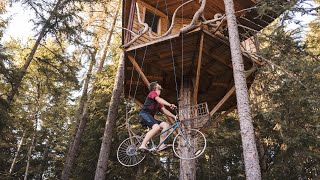 Tree House Bicycle Elevator (How It Works) + Upgrades