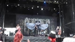 Apocalyptica - Cold Blood, live@Soundwave 22.2.2015 Adelaide, Australia