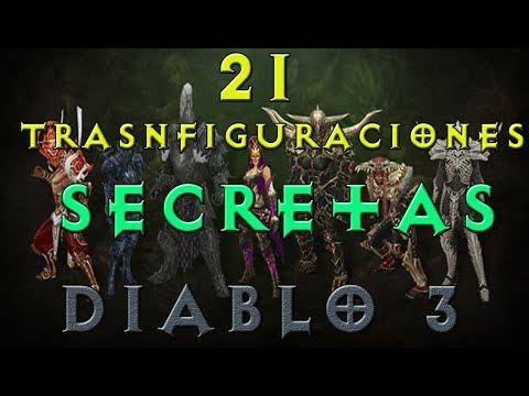 Diablo 3 | Todas las Transfiguraciones de Diablo 3 | 21 Transfiguraciones Secretas | Guia diablo 3