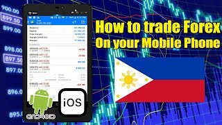 How to Trade Forex Using Mobile Phone (Tagalog)