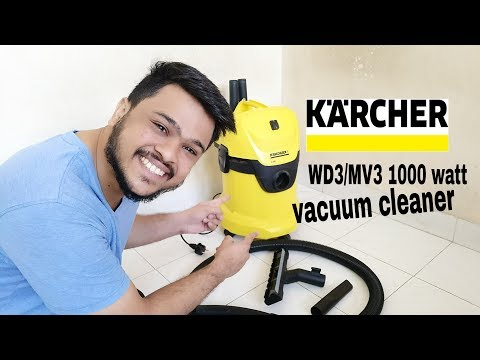 Karcher WD3/MV3 1000-Watt Wet and Dry Vacuum Cleaner My Opinion demo power test