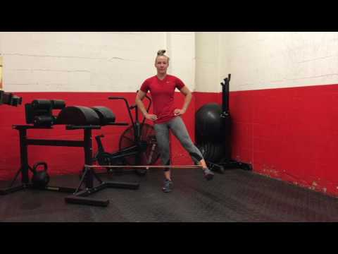 Standing Banded Hip Abduction