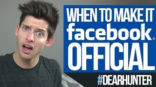 When to make it FACEBOOK OFFICIAL! - #DearHunter