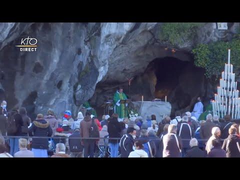 Messe de 10h à Lourdes du 8 octobre 2021